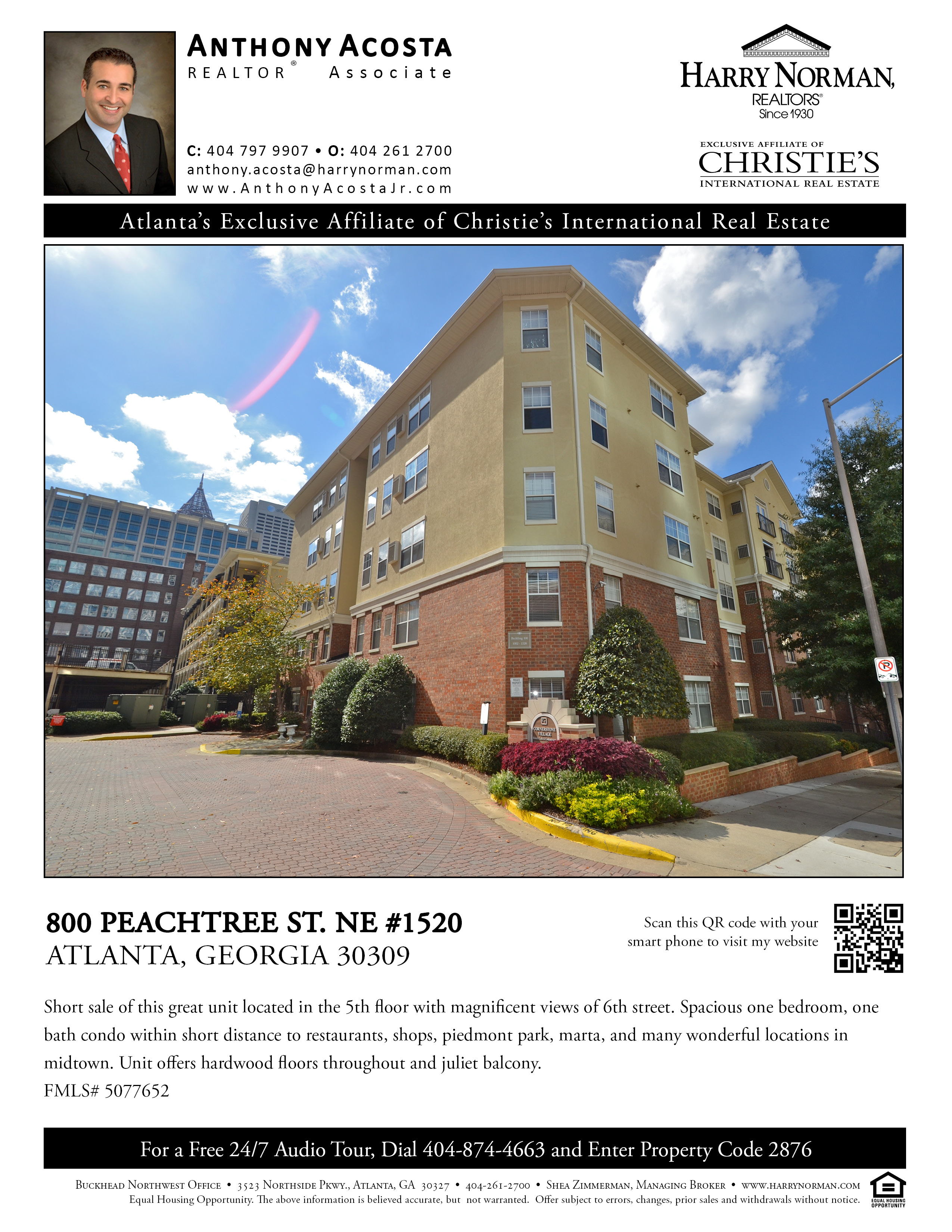 committed to excellence in real estate allatlantacondos com just listed at 800 peachtree street unit 1520